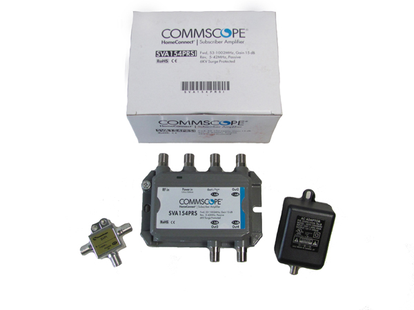 SVA154PRSI_detail commscope subscriber amplifier includes power inserter and power  at panicattacktreatment.co